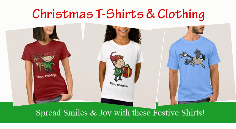 Christmas T-Shirts and Clothing