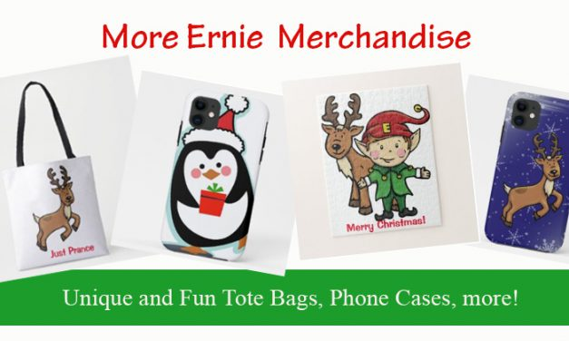 More Ernie Christmas Themed Gifts