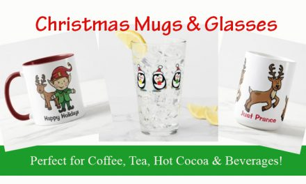 Christmas Mugs and Glassware