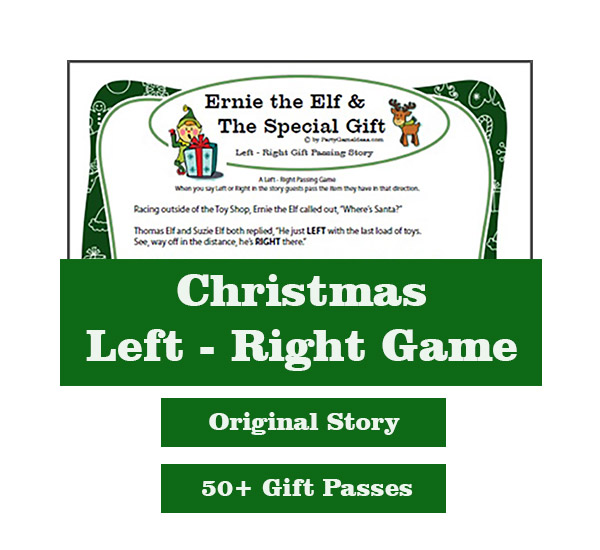 Christmas Left Right Story Game