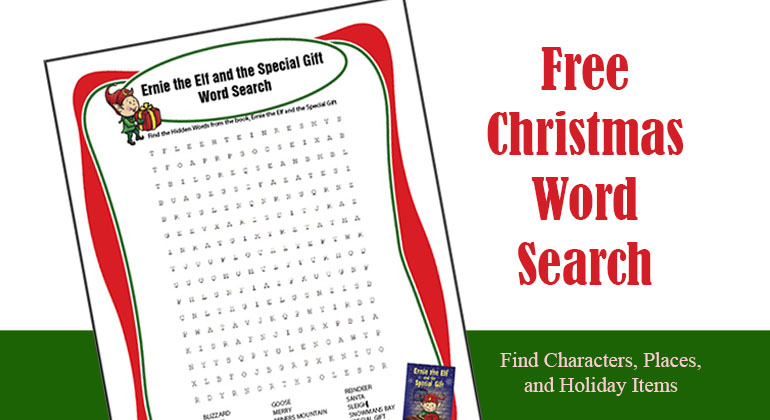 Christmas Word Find – Freebie