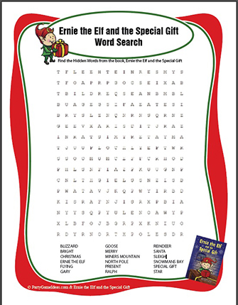 Free Christmas Word Find - Freebie Printable Holiday Word Search
